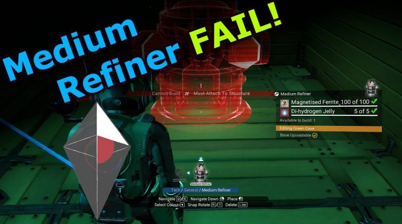 No Man's Sky Beyond – Medium Refiner Fail – E10