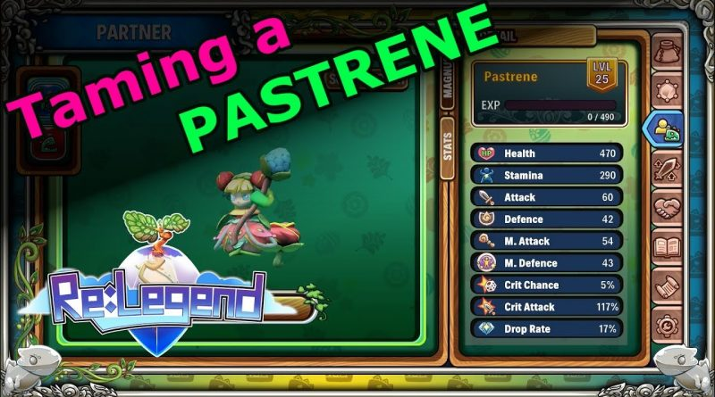 Taming a Pastrene – Re:Legend – E31