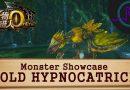 Gold Hypnocatrice – Monster Showcase – Monster Hunter Online