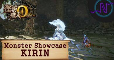 Kirin – Monster Showcase – Monster Hunter Online