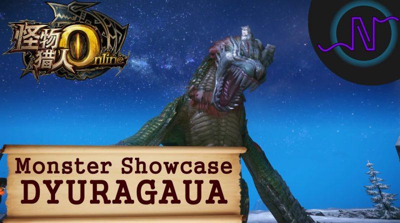 Dyuragaua – Monster Showcase – Monster Hunter Online