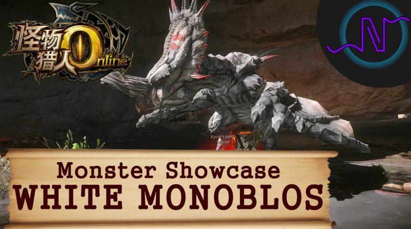 Monster Hunter Online White Monoblos