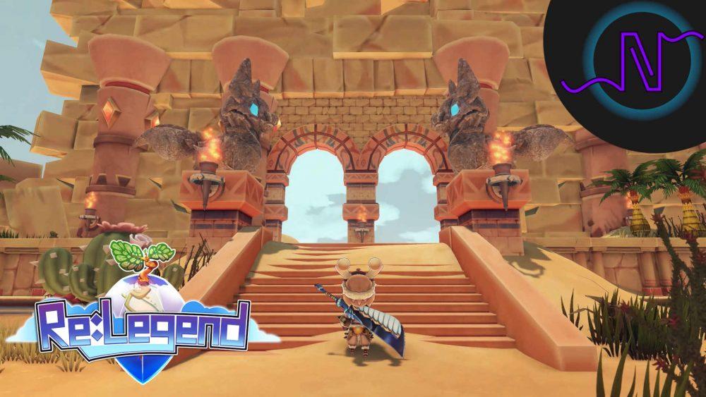 Xycor entering Re:Legend's Everdust Island